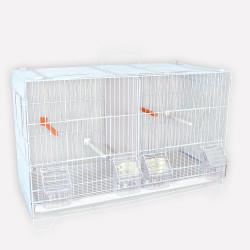 Lot de 3 cages d'élevage