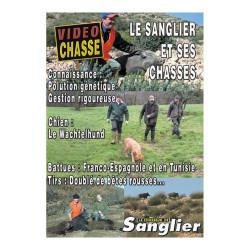 DVD Le sanglier est ses chasses: Connaissance, chien, battues, tirs
