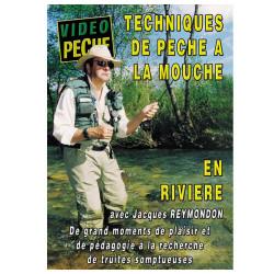 DVD : Techniques de pêche à la mouche en rivière