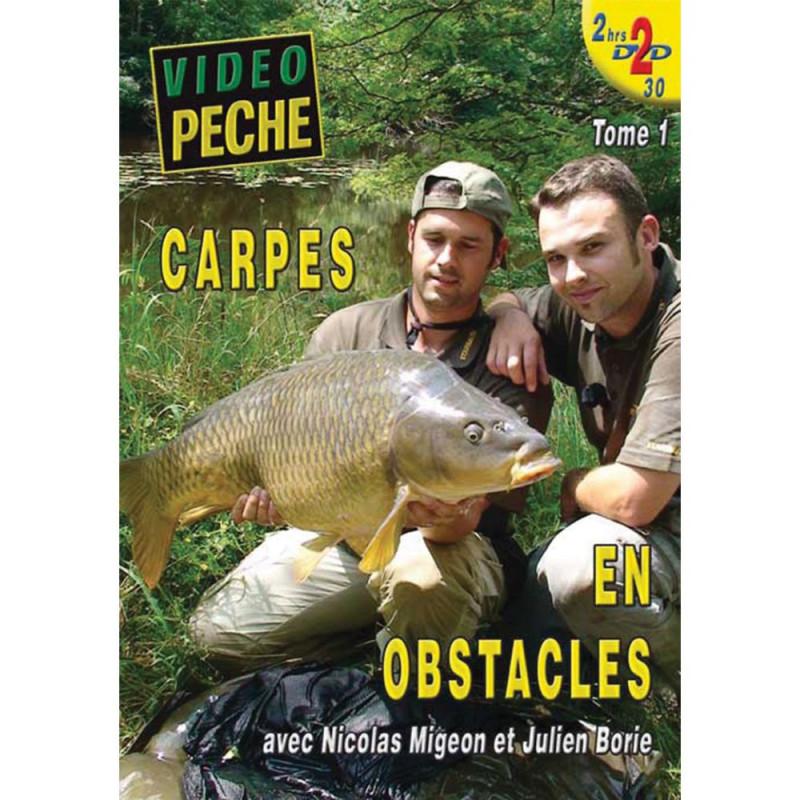 Lot de 2 DVD : Carpes en obstacles