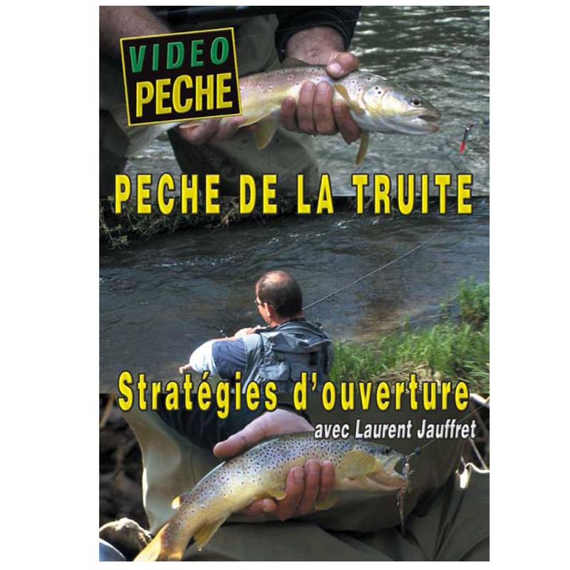 DVD : Peche de la truite : Strategies d'ouverture