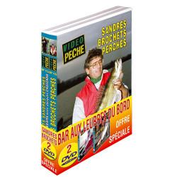 Lot 2 DVD: sandres et brochets