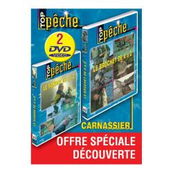 Lot de 2 DVD : Pêche des carnassiers 1