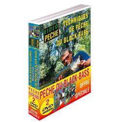Lot 2 DVD: pêche du Black-Bass