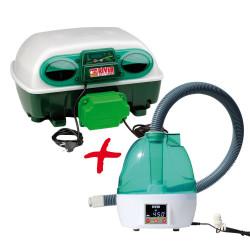 Couveuse automatique River Systems Egg Tech 24 + humidificateur Nébula